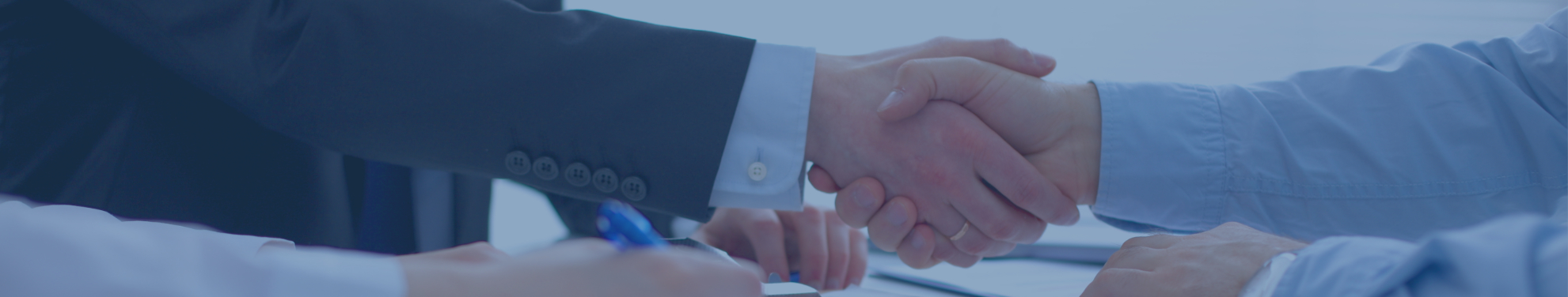 handshake business lending